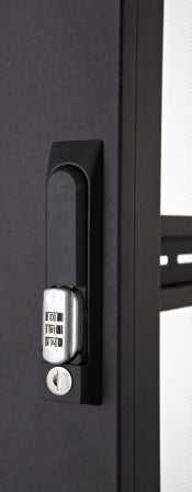 SR1 rear door combination lock handle for SR racks ONLY