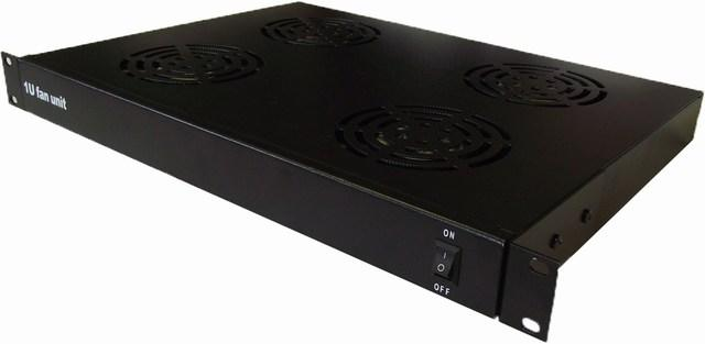 "LMS Data 1U 4 Way 19"" Rackmountable Fan Tray"