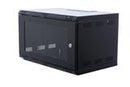 ORION 18U WALL MOUNTED CABINET 600MM WIDE X 400MM DEEP - BLACK