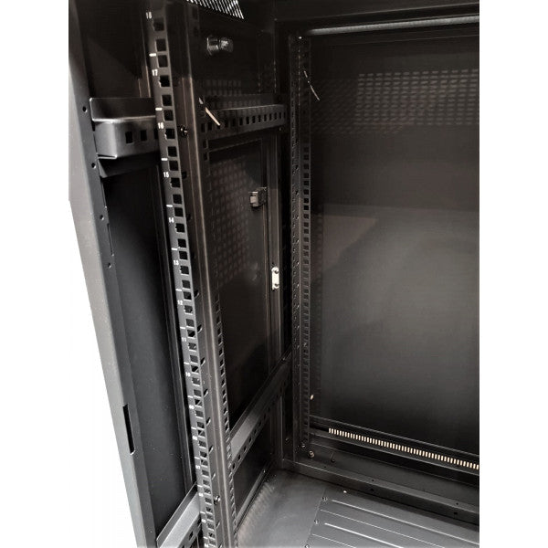 All-Rack 42U Floor Standing Server/Data Cabinet 600mm Wide X 800mm Deep (Pre-Order Only))