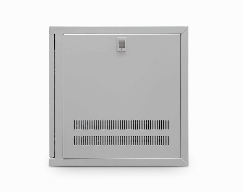 Wall Mount Cabinet 9u 550mm Wide x 450mm Deep Comms Cabinet With Shelf - Grey