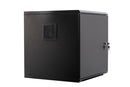 Orion 9u 600mm Wide x 600mm Deep Acoustic Wall cabinet - Black