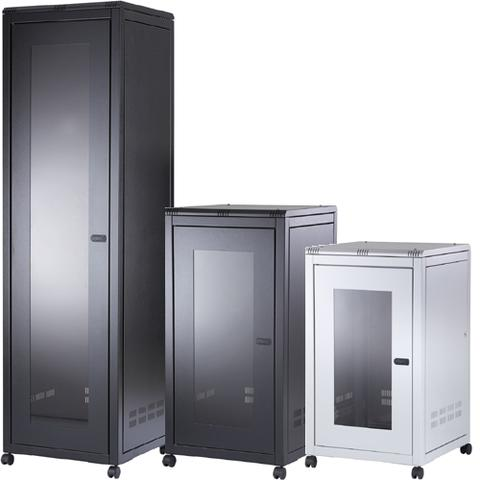 ORION 36U FREE STANDING DATA CABINET 800MM WIDE X 800MM DEEP - BLACK