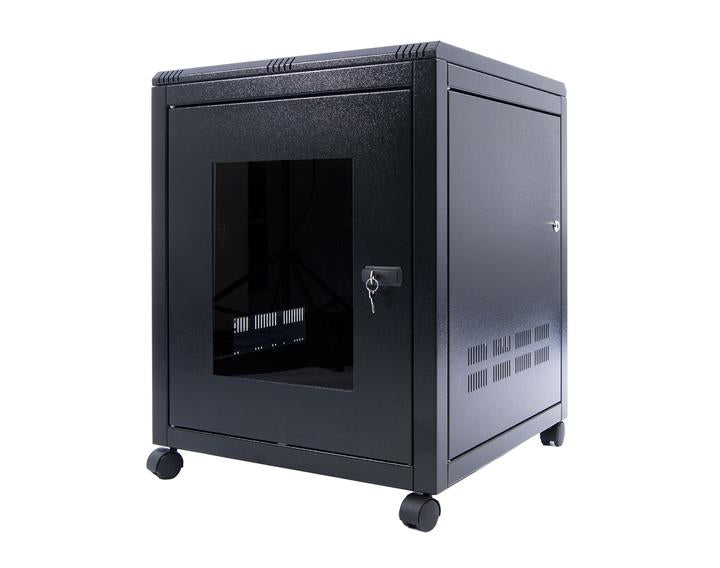ORION 18U FREE STANDING DATA CABINET 800MM WIDE X 600MM DEEP - BLACK
