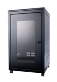 ORION 12U FREE STANDING DATA CABINET 800MM WIDE X 600MM DEEP - BLACK