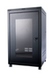 ORION 24U FREE STANDING DATA CABINET 600MM WIDE X 600MM DEEP - BLACK