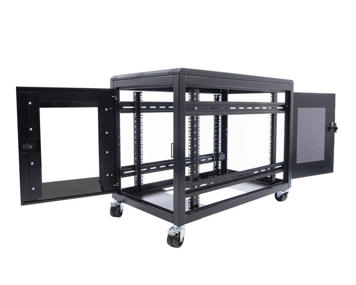 Orion 24u Value Server Rack 800mm Wide X 1200mm Deep - Black
