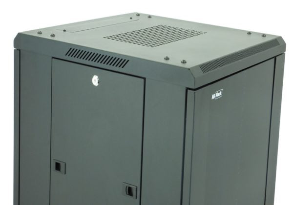 All-Rack 18u 600mm Wide x 800mm Deep Floor Standing Server/Data Cabinet - Black