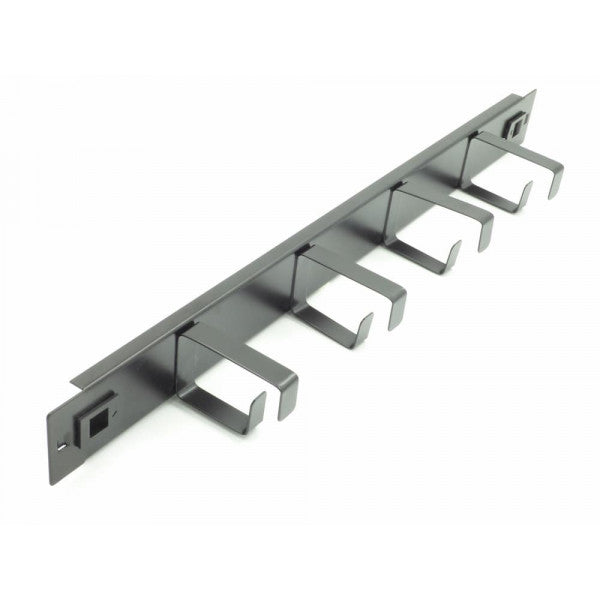 1U 4 Ring Tool Less Cable Management Bar