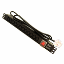 12 Way Vertical IEC PDU with UK Plug