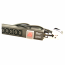 10 Way Horizontal IEC PDU with UK Plug