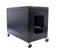 ORION 12U VALUE SERVER 800MM WIDE X 1200MM DEEP - BLACK