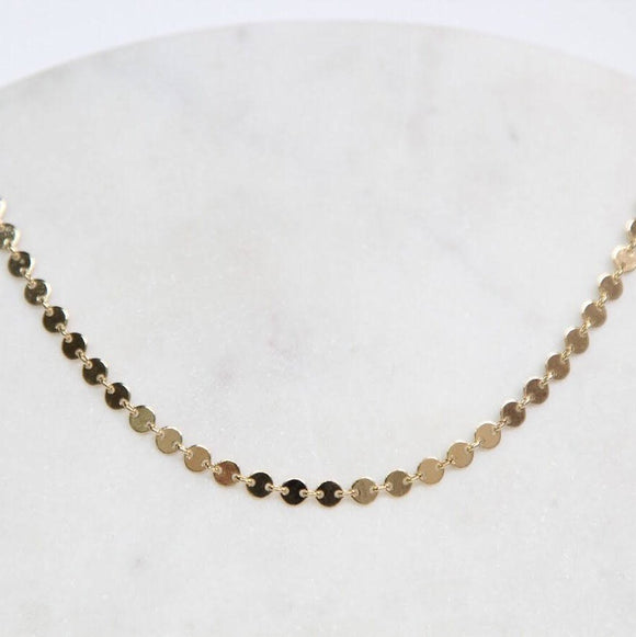 Mini Circle Gold Choker