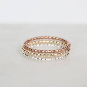 Dotted Ring/ Beaded Ring