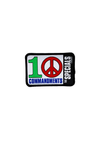 10 Commandments Embroidered Patch
