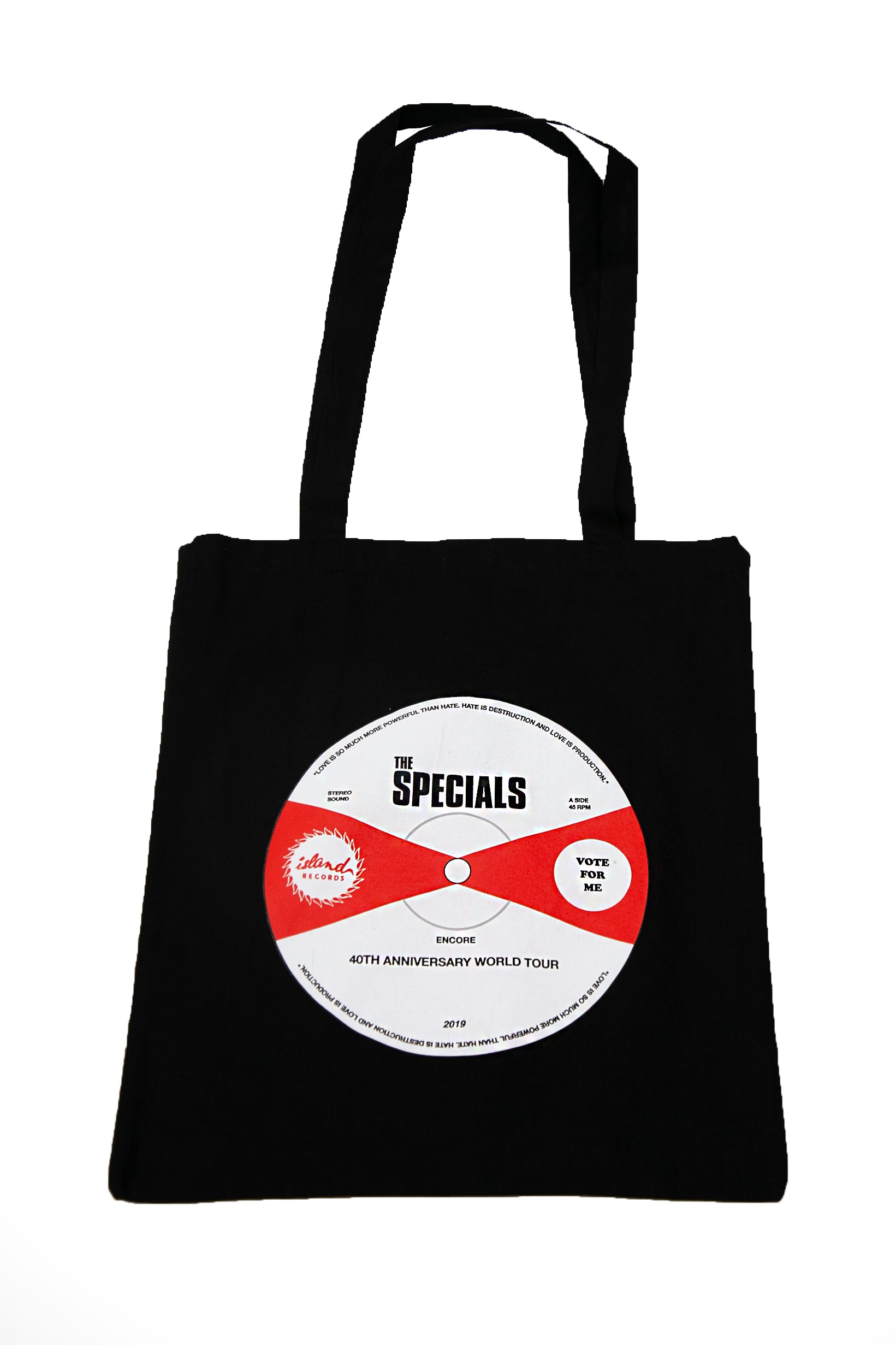 The Specials Vinyl Sticker Tote Bag