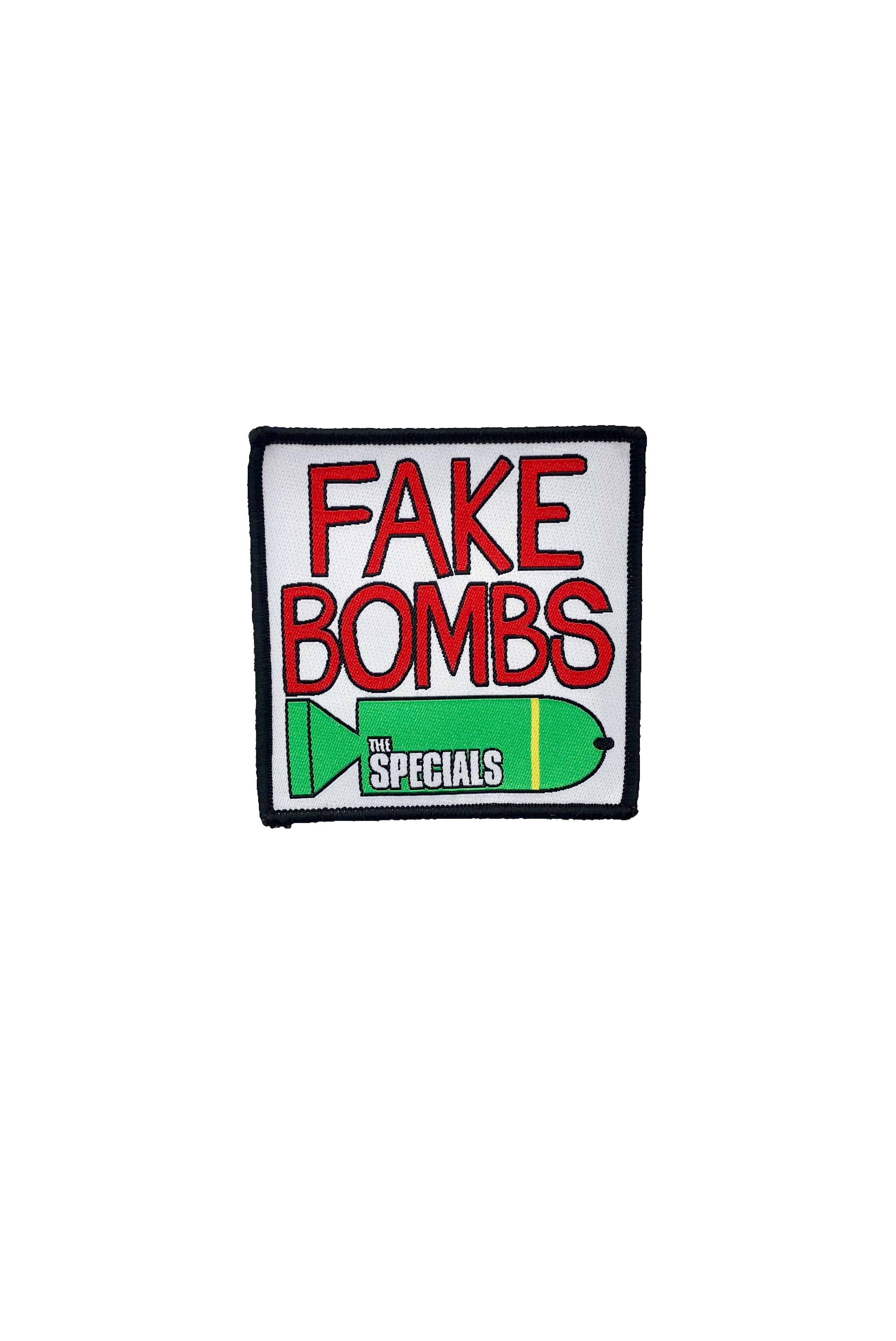 Fake Bombs Embroidered Patch