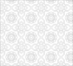 d9aec9fd6 Decorative pattern AutoCAD Drawings DWG File