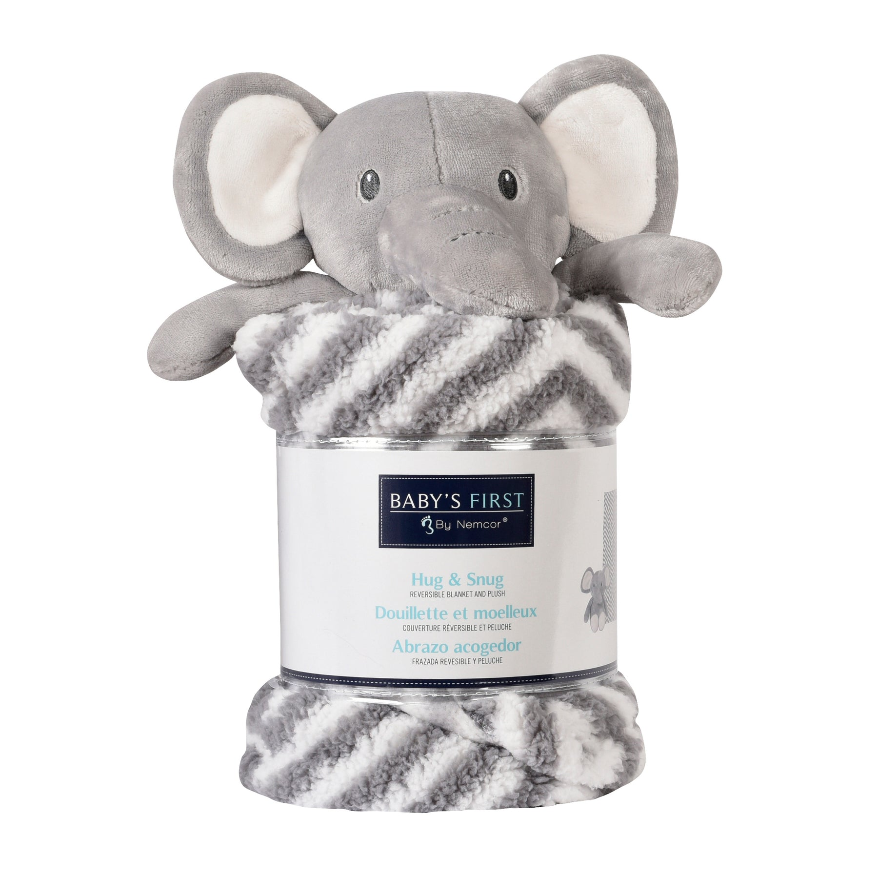 Baby's First Hug & Snug Elephant