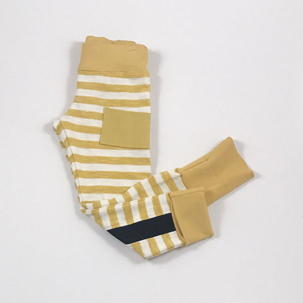Racing Joggers Yellow Stripes