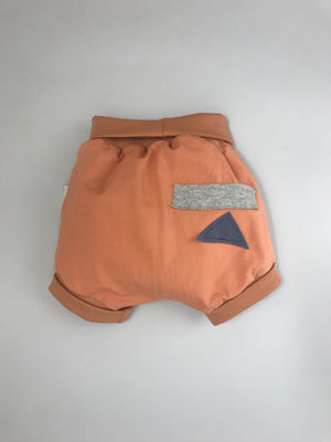 Open image in slideshow, BB bloomers with adjustable waistband and cuffs