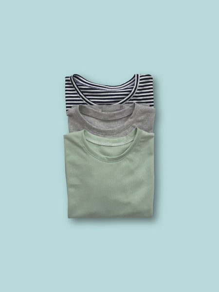 Short sleeve t-shirt pack