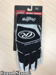 Black Rawlings Batting Gloves