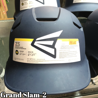 Easton Z5 Batting Helmet: Blue