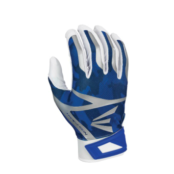 Blue Camo Easton Batting Gloves