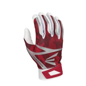 Red Camo Easton Batting Gloves