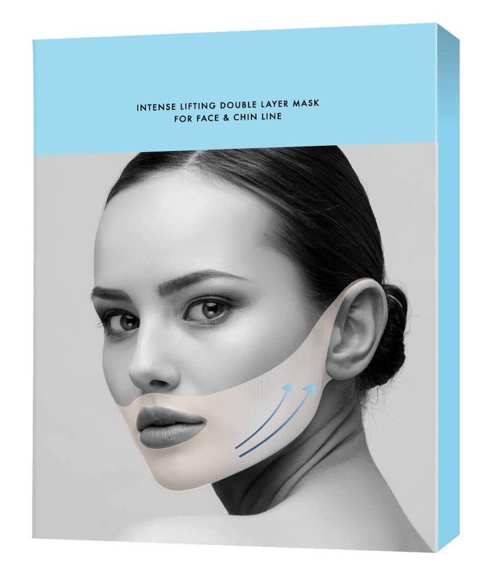Intense Lifting Double Layer Mask For Face & Chin Line