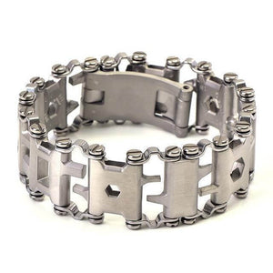 29-IN-1 STAINLESS STEEL MULTI-FUNCTIONAL TOOLS BRACELET