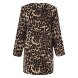 Fashion Leopard Coat