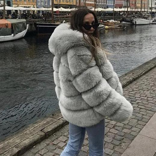 Gray Upper East Side Coat