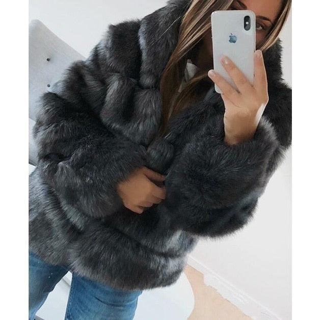 Dark Grey Upper East Side Coat