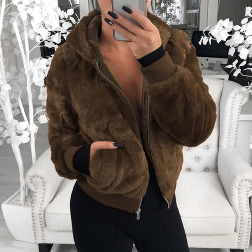 Coffee Teddy Jacket