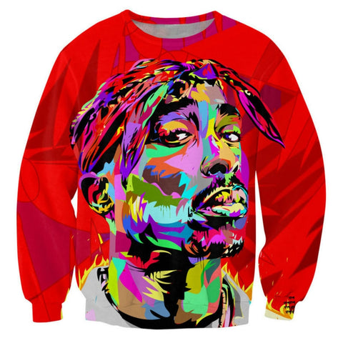 Tupac Graphic Jumper