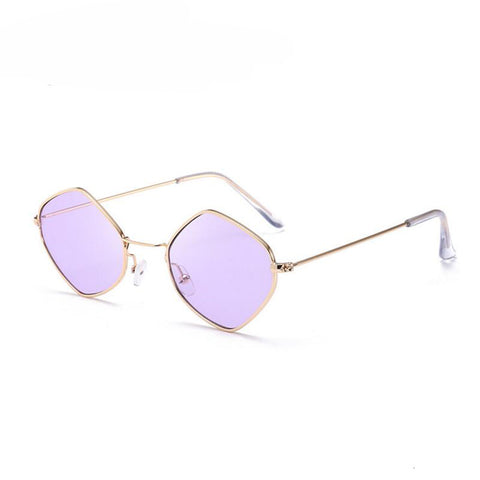Hippie Oval-Square Lennon Sunglasses (Multiple Colours)