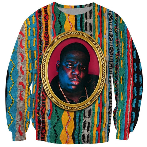 Vintage Biggie Printed Jumper