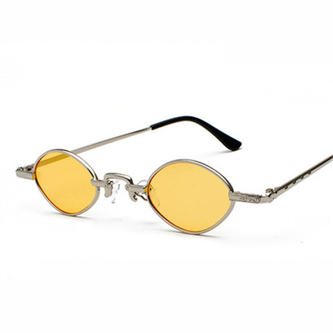 Small Oval Steampunk Sunglasses
