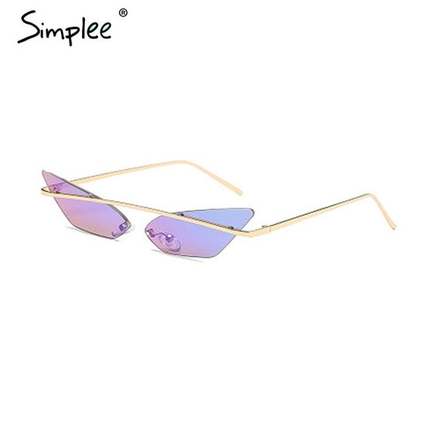 Vintage Fashion Sunglasses (Multiple Colours)