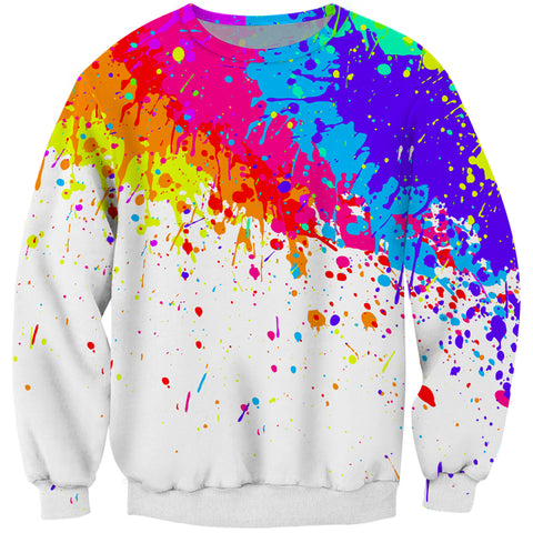 Paint Splatter 3D Art Jumper (Multiple Designs)