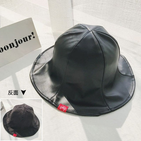 Leather Bucket Hats (Multiple Colours)