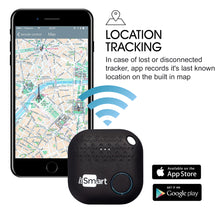 Load image into Gallery viewer, Key Finder Black | Phone Key Finder | Bluetooth Tracking Device | Anti Lost Key Finder Locator GPS | Wallet Locator | Upgrade
