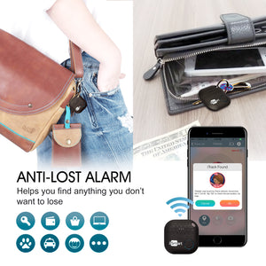 Key Finder Black | Phone Key Finder | Bluetooth Tracking Device | Anti Lost Key Finder Locator GPS | Wallet Locator | Upgrade