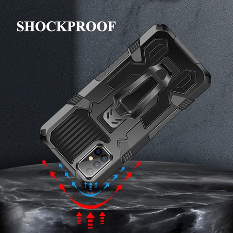 Hybrid Magnetic Shockproof Armor Galaxy S21 Series Case - S20 / S21+ / S21 Ultra