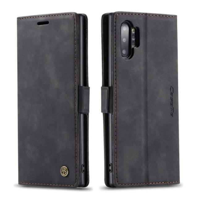 Note 10+ Case - Vintage Leather Case for Galaxy Note 10+ 5G - Belts, Buckles and Wallets