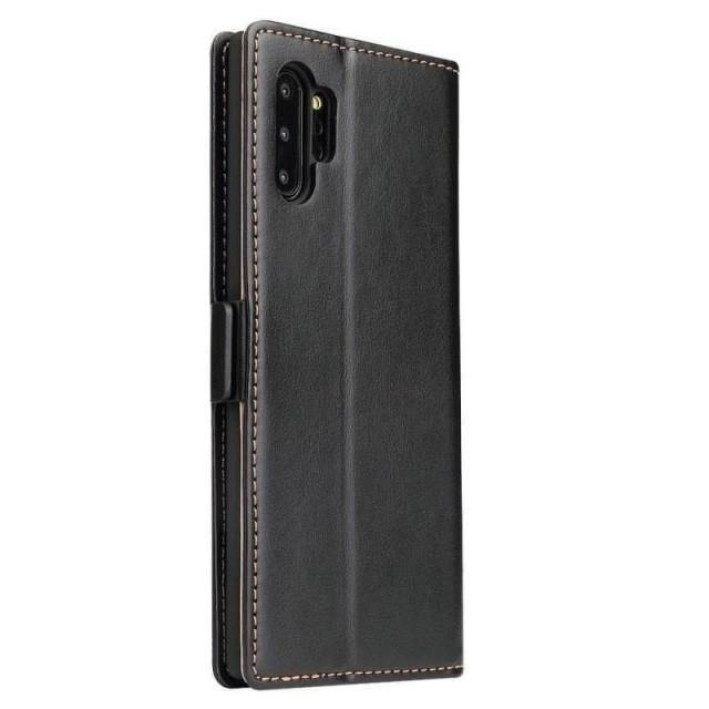 Note 10+ Case - Classic Leather Flip Galaxy Note 10+ Case - Belts, Buckles and Wallets