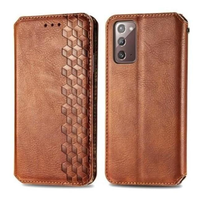 Galaxy S21+ Case - Magnetic Flip Leather S21 Ultra Case - Belts, Buckles and Wallets