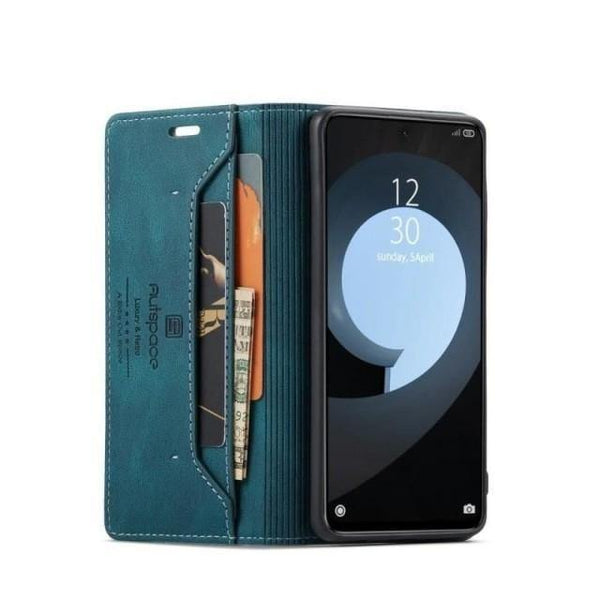 Galaxy S21+ Case - RFID Blocking Leather Galaxy S21 Ultra Case - Belts, Buckles and Wallets